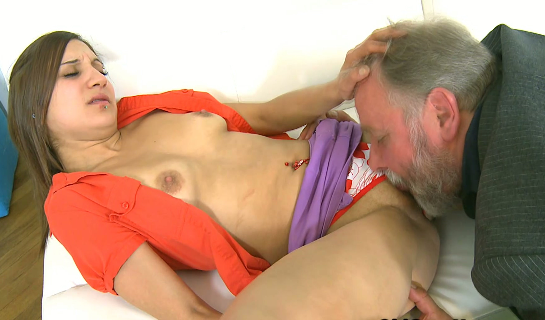 son Naked daddy and
