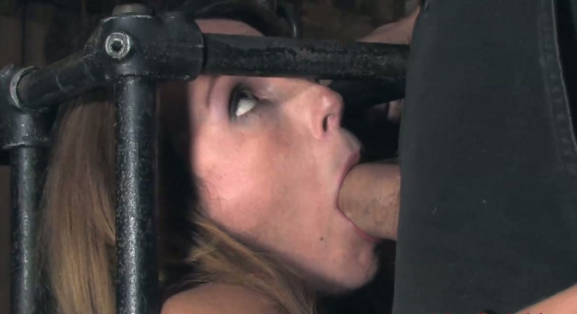 and her in Cock mouth balls