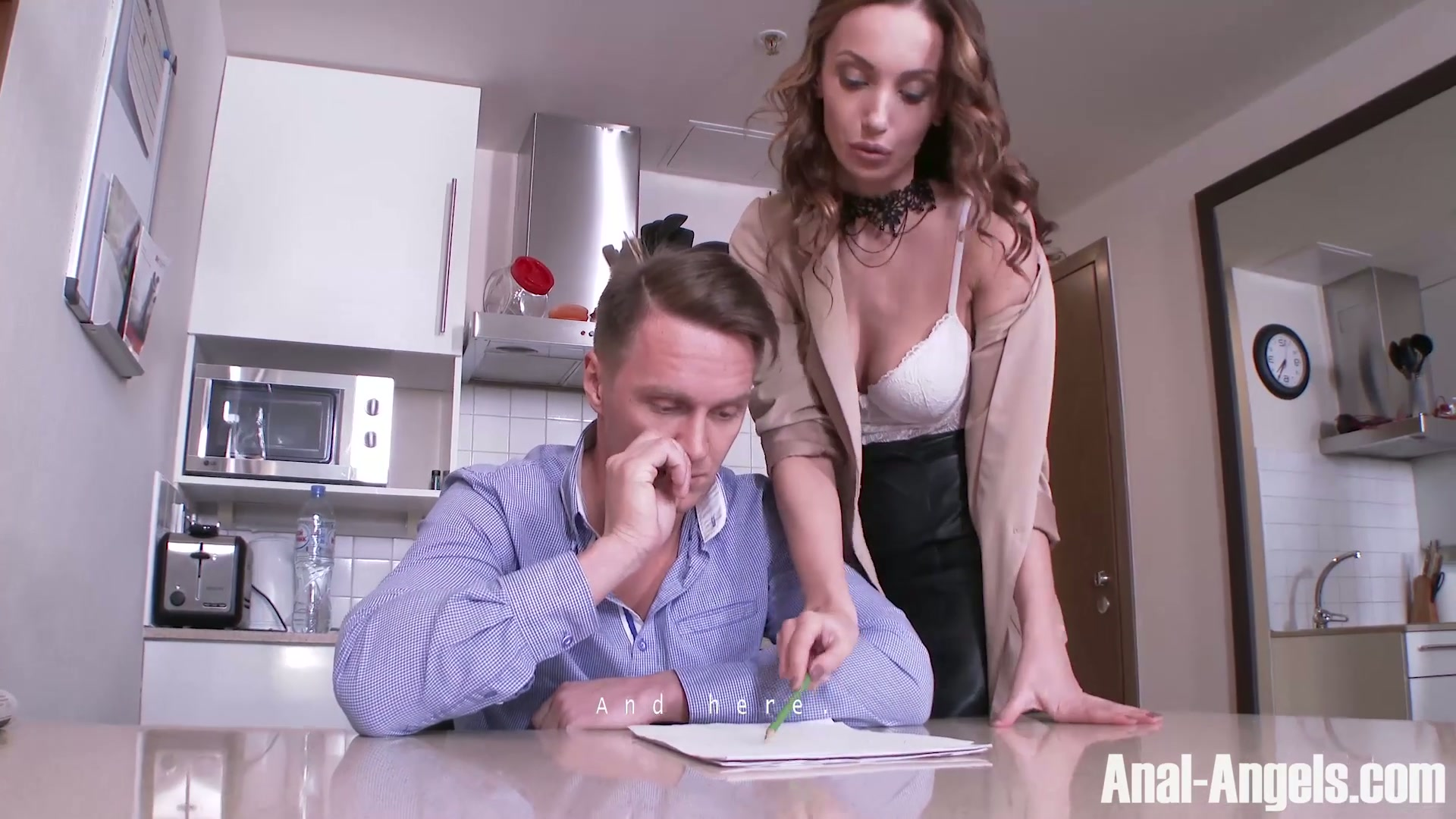 woman porno girl young old in with